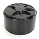 Decadent Black Powdercoat  Horn Cover - LA-F340-00B