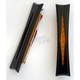 Black Anodized Diamond Style Bag Lights w/Amber LEDs - BL02-IB