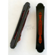 Black Anodized Templar Style Bag Lights w/Red LEDs - BL01-TB