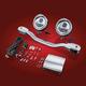 LED Elliptical Driving Light Kit - 53-132L
