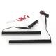 Red/Amber 12 in. Dual Color Plasma Rods Custom Turn Signals/Brake Lights - GENPLASMA12DC2