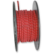 Red 25 ft. Braided Wire Roll w/Tracers - 16G-WR/RD
