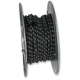 Black 25 ft. Braided Wire Roll w/Tracers - 16G-WR/BLK