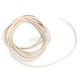 White 10 ft. Braided Wire Roll w/o Tracers - 16G-10FT/WH
