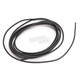 Black 10 ft. Braided Wire Roll w/o Tracers - 16G-10FT/BLK