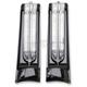 Black Saddlebag Accent Lights w/Wiring Adapter - 40003