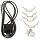 Lucas Headlight Shell Hardware Kit - 66-65079