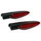 Black Rear Plug-n-Play LED Turn Signals - NVTS-B02
