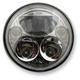 Chrome 5.75 in. Round Headlamp - CDTB-575-C