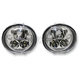 Chrome 5.75 on Oval Headlamp Kit - CDTB-575OV-C
