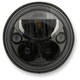 Black 7 in. Round Trubeam Headlamp - CDTB-7-B
