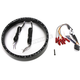 Gloss Black 7 in. LED Halo Headlight Trim Ring - CDTB-7TR-3B
