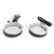 Chrome 56mm LED Wrap Around Turn Signals w/Smoke Lens - WA56-CS
