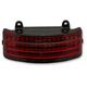 Tri Bar Rear Fender Tip Light w/Red Lens - GEN2-TRI-2-RED