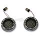 Chrome 1157 Front Base LED Turn Signal - FTRC-AA-1157-S