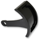 Gloss Black Radius Illuminated Vertical Side Mount License Plate Brackets - CD-HS-307-BL
