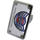 Chrome 2-1 Side Mount License Plate Mount - VSS09-C-CPT