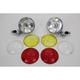 Chrome Spotlight Set - 33-1041