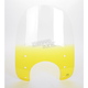 Replacement Memphis Slims Windshield Plastic for Standard  5 3/4 in. - 7 in. Headlights - MEP4215