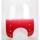 Memphis Slims Windshield Plastic w/9 in. Headlight Cutout - MEP4122