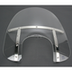 Memphis Fats 15 in. Windshield with 9 in. Headlight Opening for Big Nacelle Headlight - 2313-0049