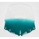 Tall Gradient Teal Windshield w/Vent Hole - MEP4883