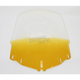 Tall Gradient Yellow Windshield w/Vent Hole - 2312-0182