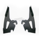 Night Shades Black No-Tool Trigger-Lock Hardware Kit to Change from Sportshield to Fats/Slim - Plates Only - MEB8864