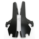 Night Shades Black No-Tool Trigger-Lock Hardware Kit to Change from Sportshield to Fats/Slim - Plates Only - MEB1860
