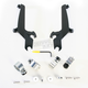 Night Shades Black No-Tool Trigger-Lock Hardware Kit for Sportshields - MEB8917