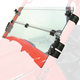 Clear Half-Folding Windshield - 1456