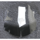 Clear 16 in. Flare Non-Vented Windshield - 2312-0254