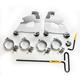 Polished Cafe Fairing Trigger Lock Hardware Kit - MEK2015