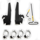 Black Batwing Fairing Trigger Lock Hardware Kit - MEB2016
