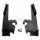 Black No-Tool Trigger-Lock Plate Only Kit to Change from Sportshield/Fat/Slim to Batwing - MEB1716