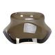 Smoke 10 in. Spoiler windshield for OEM Fairings - MEP85701