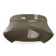 Smoke 10 in. Spoiler windshield for OEM Fairings - MEP86201