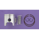 High Performance Piston Assembly - 75.3mm Bore - 2388M07530