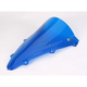 Dark Blue Double Bubble Windscreen - 16-539-04