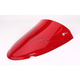 Red Double Bubble Windshield - 16-727-09