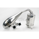 Single Pipe Tuned Exhaust System w/Ceramic Coated Canister and Pipe - 09-872