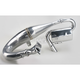 Single Pipe Tuned Exhaust System w/Ceramic Coated Canister and Pipe - 09-878