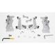 No-Tool Trigger-Lock Hardware Kits for Sportshields - MEM8933