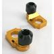 Gold Axle Block Sliders - DRAX-101-GD