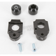 Black Axle Block Sliders - DRAX-102-BK