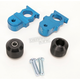 Blue Axle Block Sliders - DRAX-103-BL
