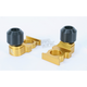 Gold Axle Block Sliders - DRAX-103-GD