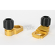 Gold Axle Block Sliders - DRAX-104-GD