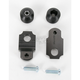 Black Axle Block Sliders - DRAX-105-BK