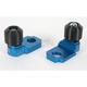 Blue Axle Block Sliders - DRAX-105-BL